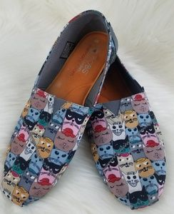 Bobs Cat Design Flat size 9
